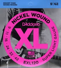 DADDARIO Musical Instruments Part/Accessory EXL120