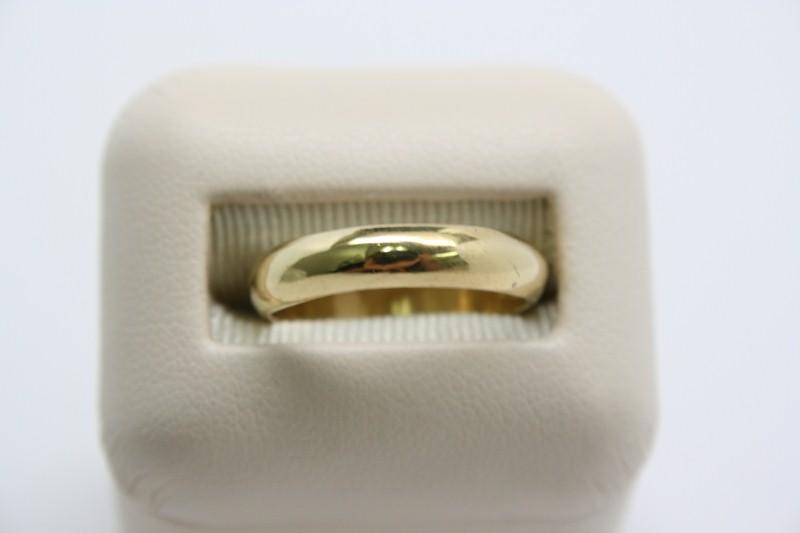 WEDDING BAND 24K YELLOW GOLD
