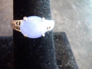 Purple Stone Lady's Stone Ring 14K Yellow Gold 1.8dwt