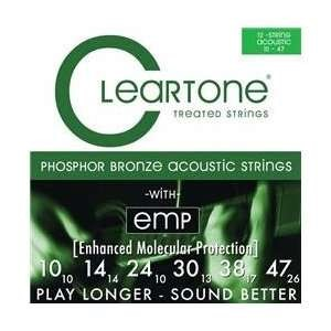 CLEARTONE Musical Instruments Part/Accessory 12 STRING ACOUSTIC GUITAR STRINGS