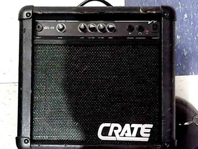 crate bass guitar amp bx 15 personal bass amp good buya. Black Bedroom Furniture Sets. Home Design Ideas