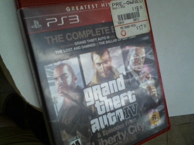SONY Sony PlayStation 3 GRAND THEFT AUTO IV & EPISODES FROM LIBERTY CITY