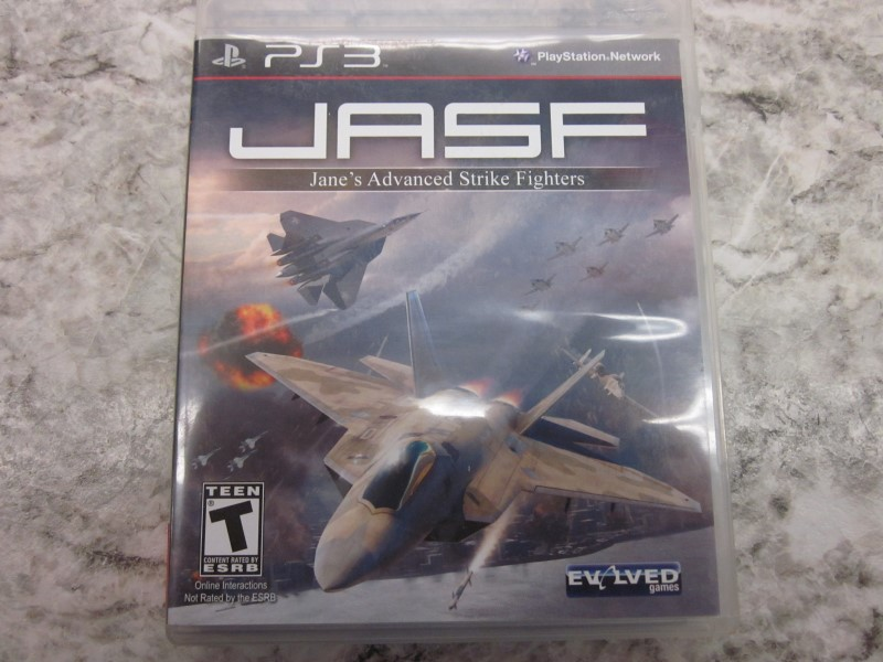 PS3 JASF JANE ADVANCED STRIKE FIGHTER