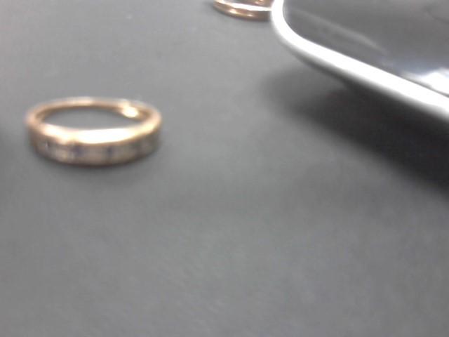 Synthetic Agate Lady's Stone & Diamond Ring 13 Diamonds .13 Carat T.W.