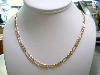 Gold Link Chain 10K Yellow Gold 16.48g