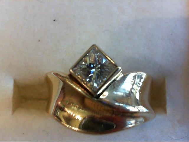 Lady's Diamond Wedding Band .75 CT. 14K Yellow Gold 7.14g