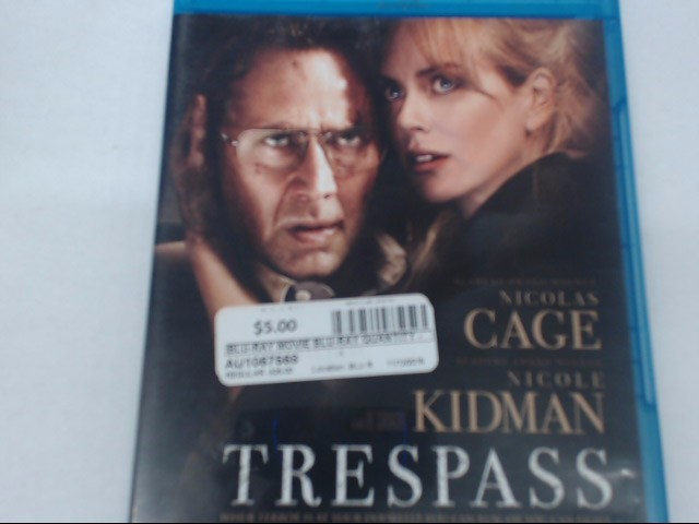 TRESPASS - BLU-RAY MOVIE