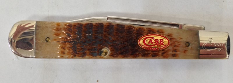 CASE KNIFE 1989 COLLECTOR'S CLUB 2 BLADE BONE HANDLE