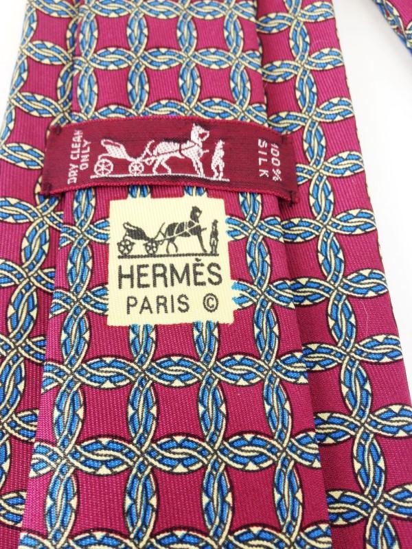 HERMÈS 7092 OA SILK TIE