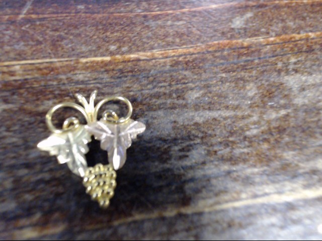 Gold Pendant 10K Yellow Gold 0.6g