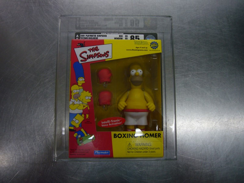 TOY FARE Doll SIMPSONS BOXING HOMER