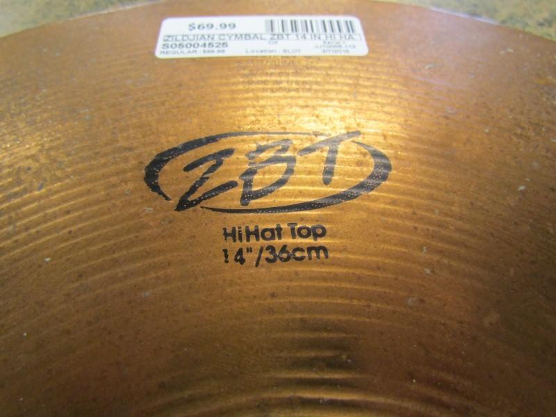 ZILDJIAN Cymbal ZBT 14 IN HI HAT SET