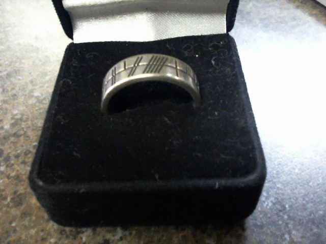 Gent's Silver Ring 925 Silver 7.06g Size:10