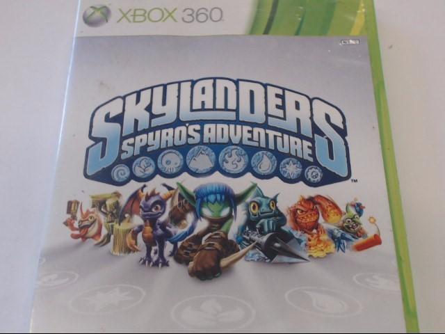 XBOX 360 SKYLANDERS SPYRO'S ADV.