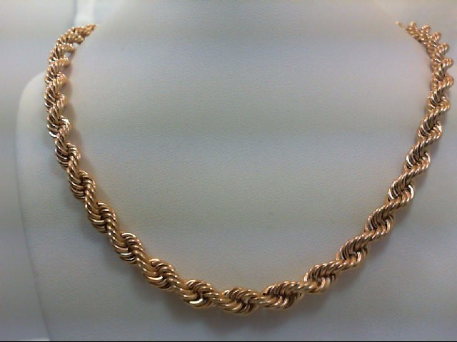 "20"" Gold Chain 14K Yellow Gold 26.4g"