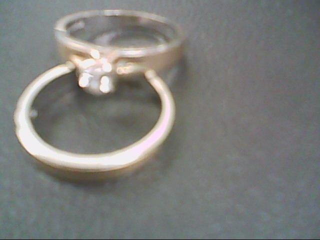 Lady's Diamond Solitaire Ring .20 CT. 14K Yellow Gold 5.6g