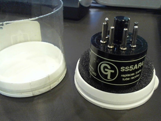 GROOVE TUBES Electronic Instrument GT-SS5AR4/GZ34