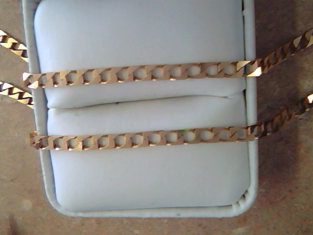 GOLD NECKLACE JEWELRY , 14KT, 9.