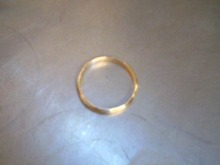 Gent's Gold Ring 14K Yellow Gold 2.7g