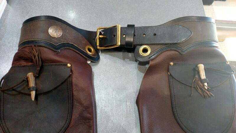 Clothing brown leather CHAPS