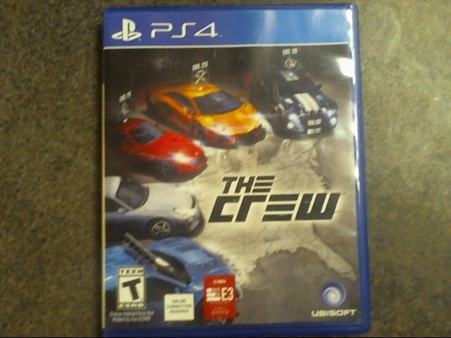 SONY Sony PlayStation 4 Game THE CREW