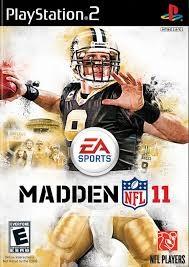 SONY Sony PlayStation 2 MADDEN NFL 11 PS2