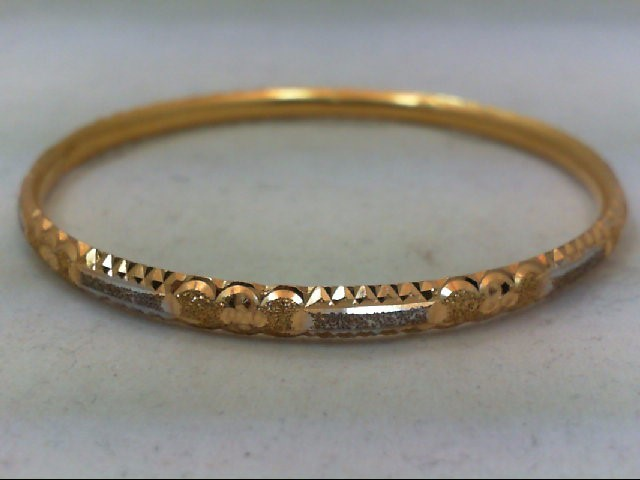 Gold Bracelet 18K Yellow Gold 7.4g