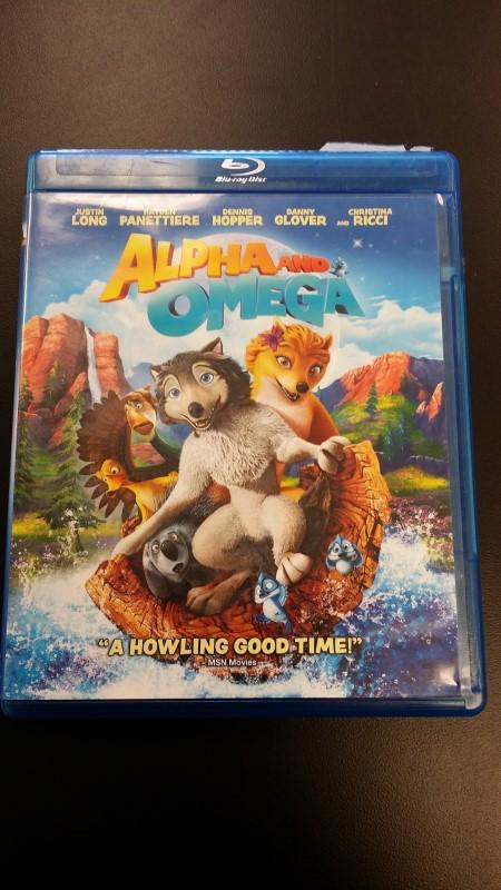 BLU-RAY MOVIE Blu-Ray ALPHA AND OMEGA