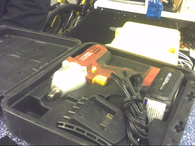 CHICAGO ELECTRIC Impact Wrench/Driver 60380 IMPACT WRENCH