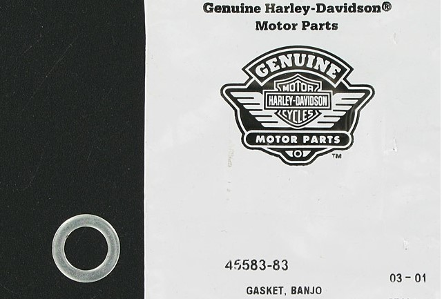 HARLEY DAVIDSON 45583-83, WASHER