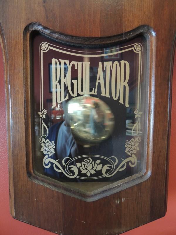 ELGIN REGULATOR CLOCK