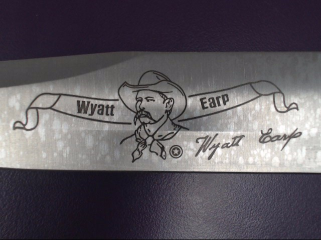 THE WILD WEST BOWIE KNIFE NO.2 WYATT EARP