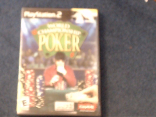 SONY Sony PlayStation 2 WORLD CHAMPIONSHIP POKER