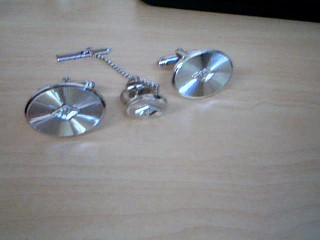Misc. Costume Jewelry Silver Stainless 17.39g
