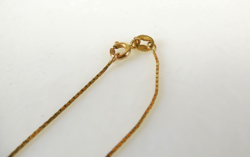 "16"" Gold Chain 14K Yellow Gold 1.6g"