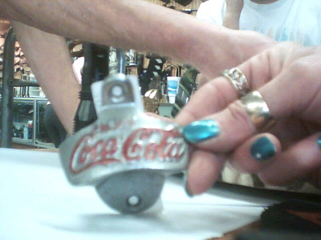 "COCA COLA ""One of a kind"" WALL MOUNT BOTTLE OPENER"