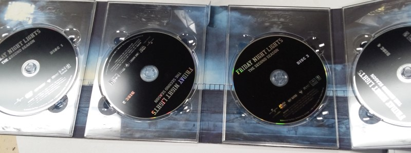 Friday Night Lights - Season 2 S2 (DVD, 2008, 4-Disc Set)