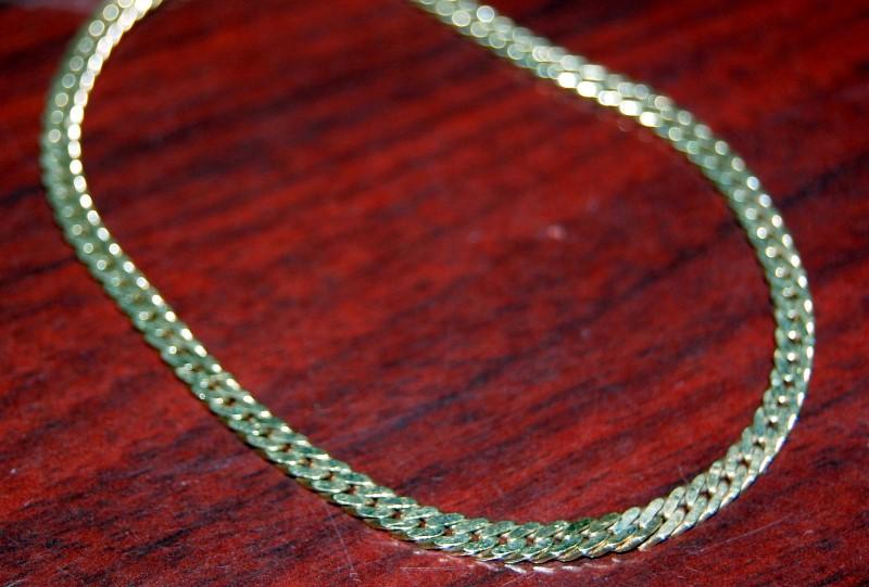 Gold Anchor Bracelet 14K Yellow Gold 5.5g