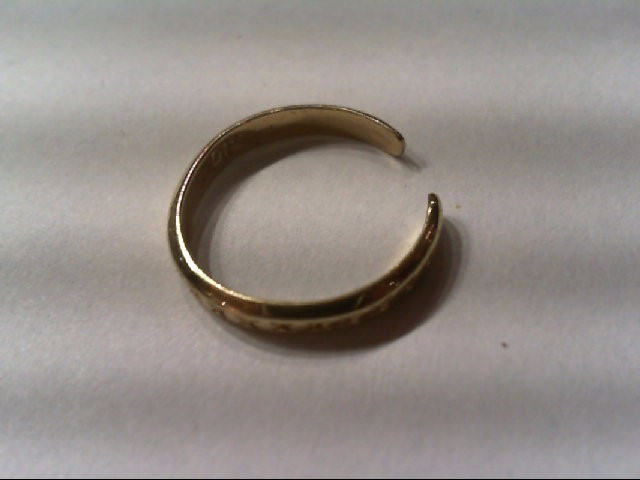 Lady's Gold Ring 10K Yellow Gold 0.9g