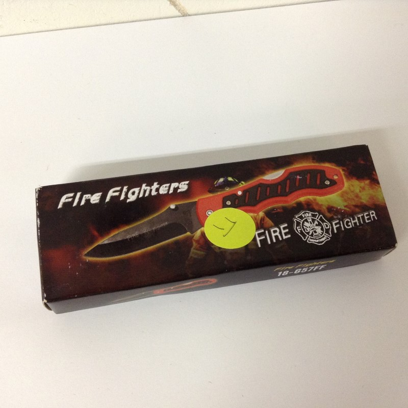 Pocket Knife FIREFIGHTER POCKET KNIFE