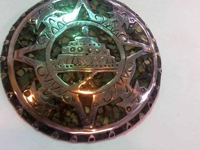 Silver Brooch 925 Silver 33.1g