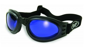 GLOBAL VISION ADVENT C AST; FOLDABLE GOGGLES WITH BLACK FRAMES AND ASSORTED COLO