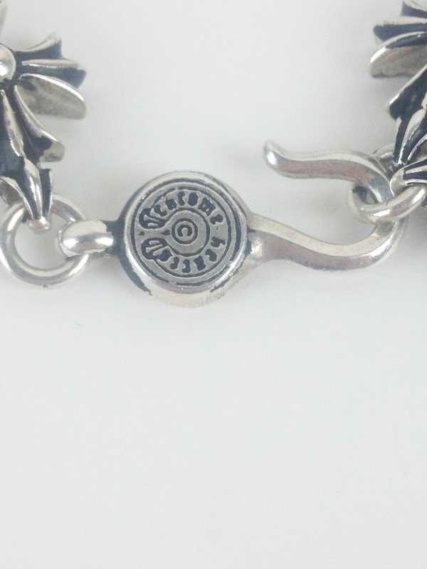 Chrome Hearts Sterling Silver Chain 110.83g
