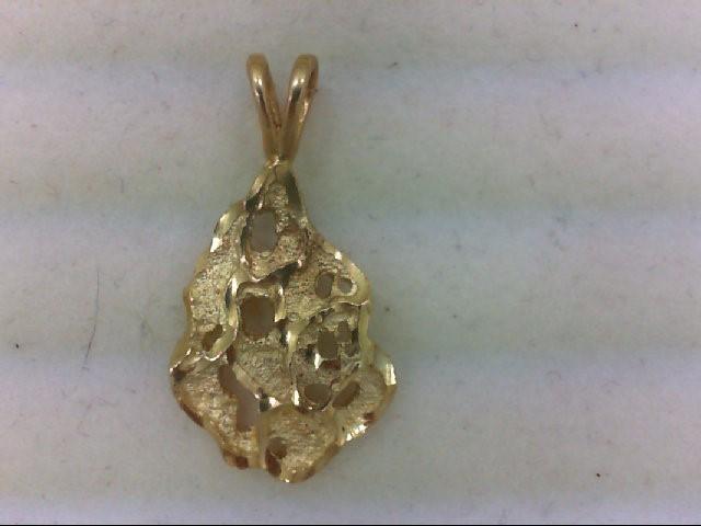 Gold Pendant 14K Yellow Gold 1.2g