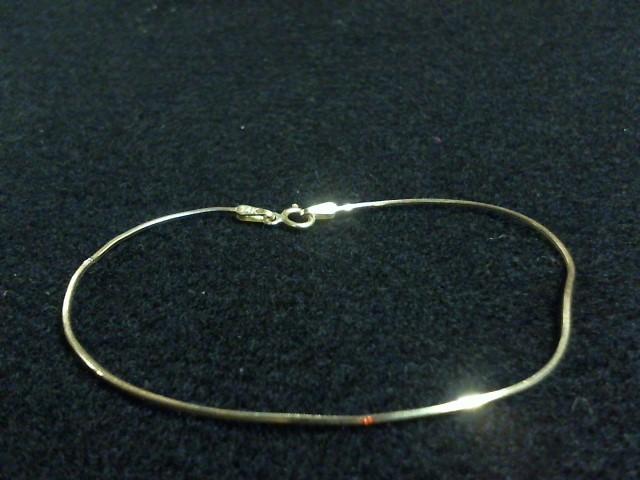 Gold Bracelet 14K Yellow Gold 0.8dwt