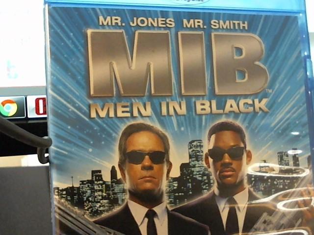 BLURAY MOVIE MEN IN BLACK.
