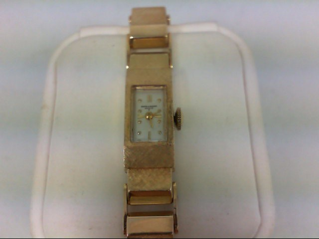 BAUME & MERCIER Lady's Wristwatch 17 JEWEL GENEVE 14K Yellow Gold 25.9g