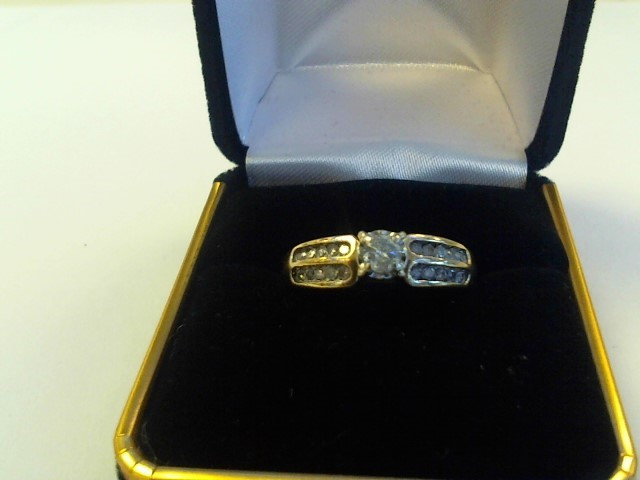 Lady's Gold Ring 14K Yellow Gold 3dwt