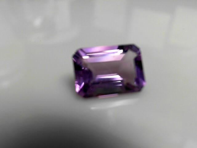 6.6cts Amethyst Emerald Cut Stone