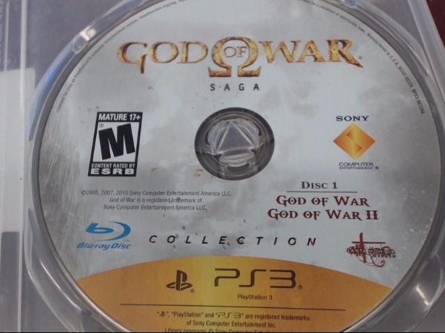 SONY PS3 GOD OF WAR SAGA